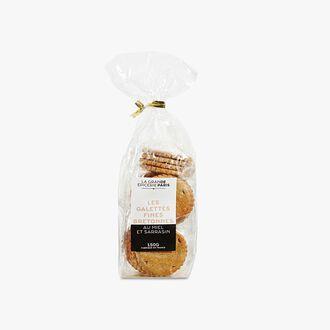 Buckwheat biscuits with honey La Grande Épicerie de Paris