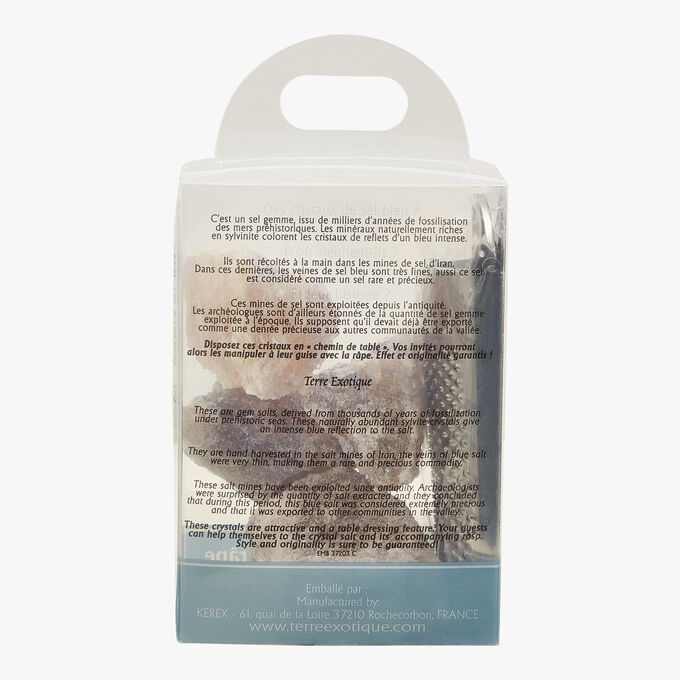 Persian Blue Salt: with grater Terre Exotique