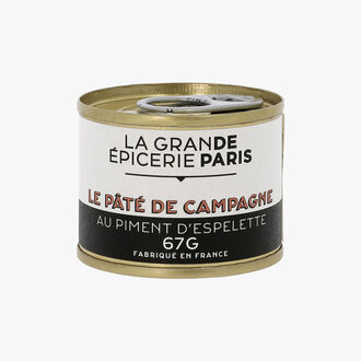 Farmhouse Pâté with Espelette chili La Grande Épicerie de Paris