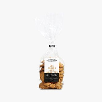 Shortbread biscuits with hazelnuts and chestnut honey La Grande Épicerie de Paris