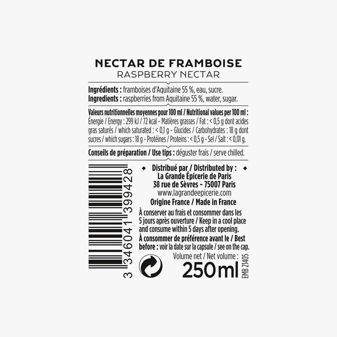 Le nectar de framboise d'Aquitaine La Grande Épicerie de Paris