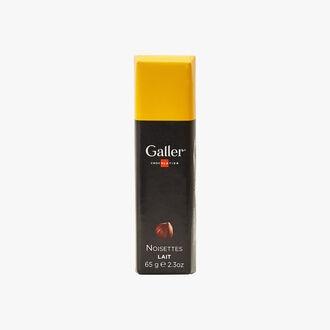 Chocolat au lait noisettes Galler