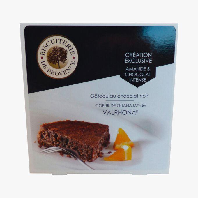 Gâteau sans gluten au chocolat noir cœur de Guanaja de Valrhona Biscuiterie de Provence