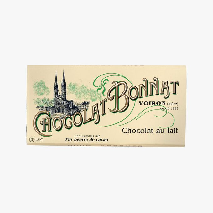 Milk chocolate  Bonnat