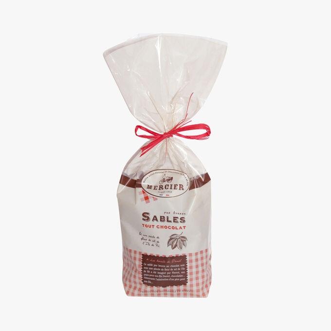 All chocolate shortbread Daniel Mercier