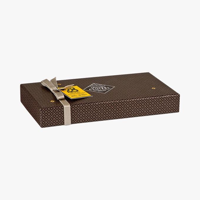 Coffret chocolats noir & lait n°28 Michel Cluizel