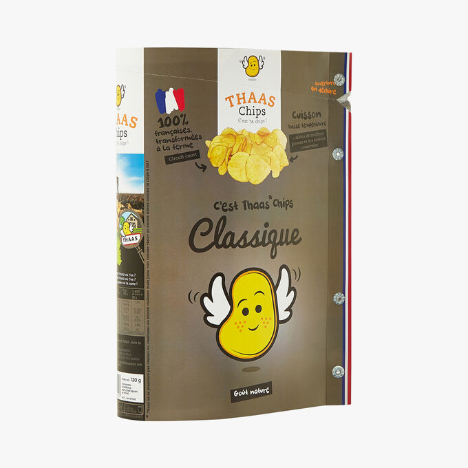 Natural-flavoured traditional chips Thaaschips