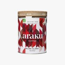 Café moulu Micro climat, origine Inde Araku