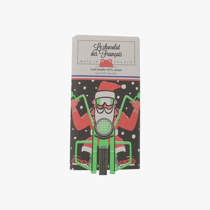 Tablette lait tendre de Noël Bio Le Chocolat des Français