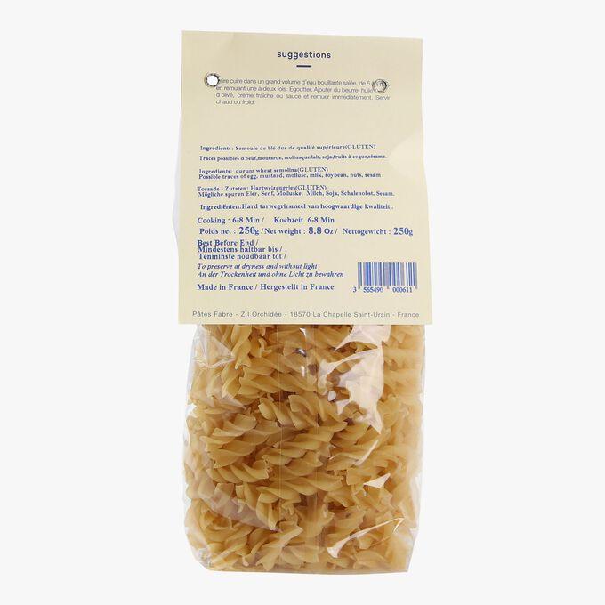Plain spiral pasta Pâtes Fabre