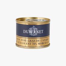 Bloc foie gras de canard du Sud-Ouest Maison Dubernet