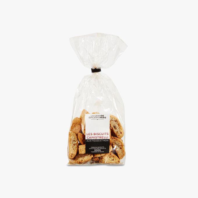 Corsican canistrelli biscuits with figs and walnuts La Grande Épicerie de Paris