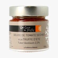 Délice de tomate séchée à la truffe d´été Tuber aestivum 2,2% La Cave à Truffes