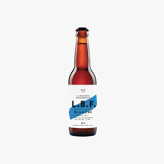 Bière Blanche La Brasserie Fondamentale