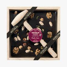Chocolat à casser noir fruits secs Le Comptoir de Mathilde