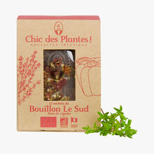 12 sachets of Le Sud broth Chic des Plantes !