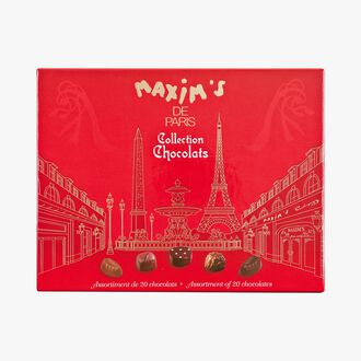 Collection de 20 chocolats assortis Maxim's
