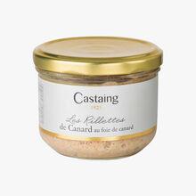Les Rillettes de Canard au foie de canard Castaing