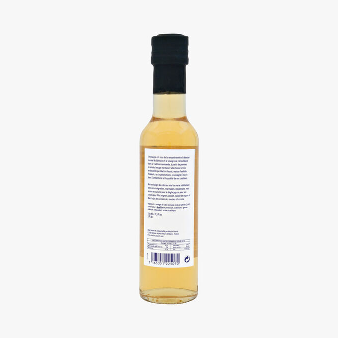 Honey cider vinegar Martin Pouret