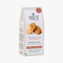 Préparation bio pour madeleines à la fleur de sel de l'île de Ré Marlette
