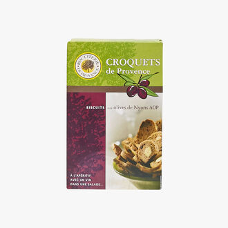 Nyons AOP olive croquets Biscuiterie de Provence