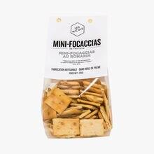Mini focaccias with rosemary Les Niçois