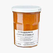 Apricot compote La Trinquelinette