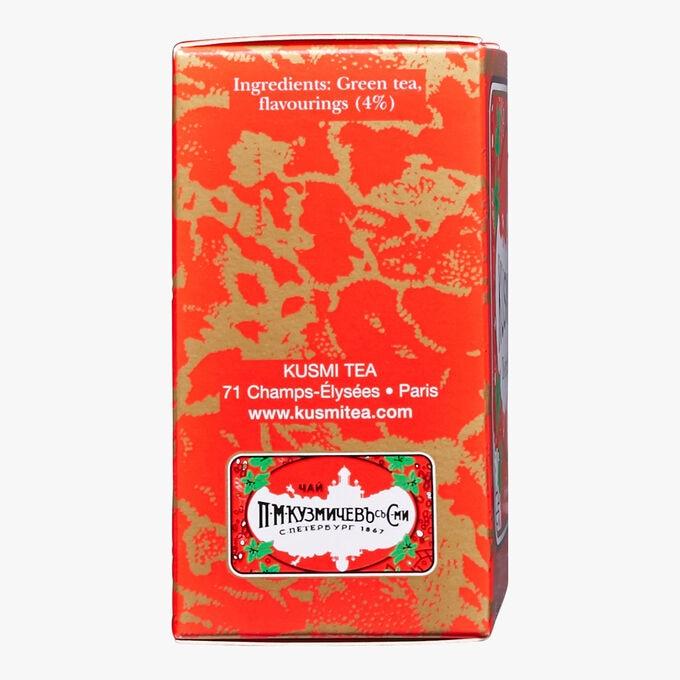 Strawberry Green Tea, box of 20 teabags Kusmi Tea