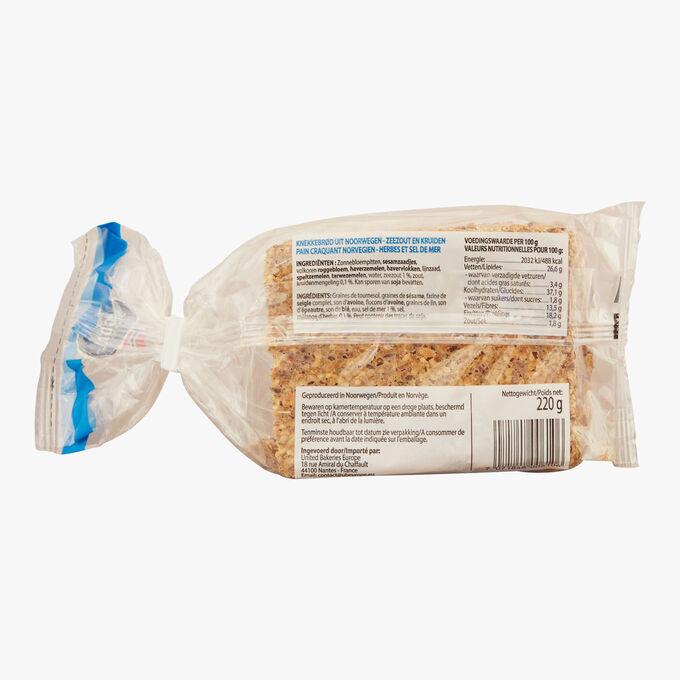 Pain aux herbes et sel de mer Sigdal Bakeri