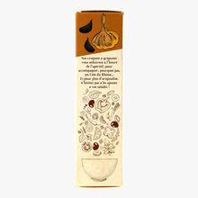 Les croquets, biscuits apéritifs, ail noir Biscuiterie de Provence