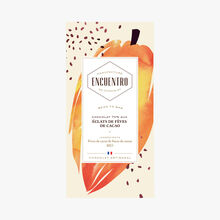 Bean to bar - 70% chocolate with cocoa nibs Encuentro