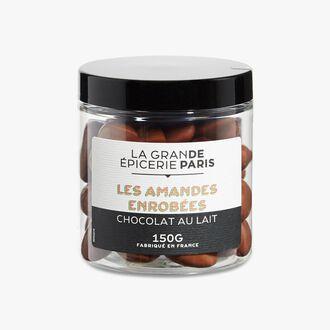 Les amandes enrobées chocolat au lait  La Grande Épicerie de Paris