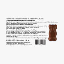 Classic small chocolate-covered marshmallow bears Sophie M