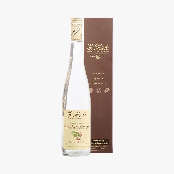 Eau-de-Vie de Framboise Sauvage Grande Réserve, Distillerie Miclo G.Miclo