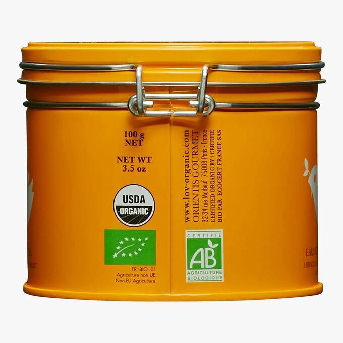 Eau de Fruits Agrumes boîte métal Lov Organic