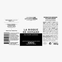Bisque de homard au Kari Gosse La Grande Épicerie de Paris