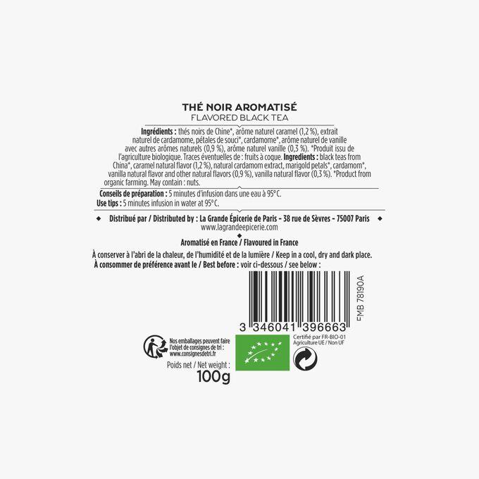Organic tea – Our blend La Grande Épicerie de Paris