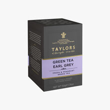 Thé vert Earl Grey, 20 sachets Taylor's of Harrogate