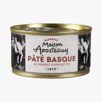 Pâté basque piment d'espelette Maison Arosteguy