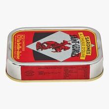 Sardines à l'huile d'olive Saint-Georges Conserverie la Belle-Iloise