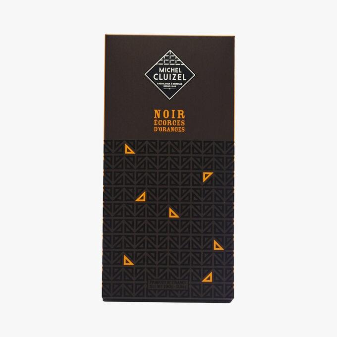 Dark chocolate with orange peel Michel Cluizel