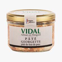 Pâté Georgette - pâté de foie de porc Vidal