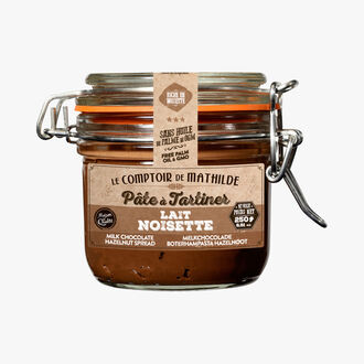 Hazelnut and milk spread Le Comptoir de Mathilde