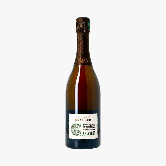 Champagne Drappier, extra brut, Clarevallis Drappier