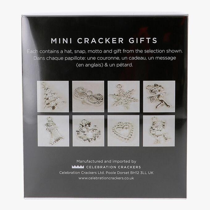 Mini cube de crackers dorés Celebration Crackers