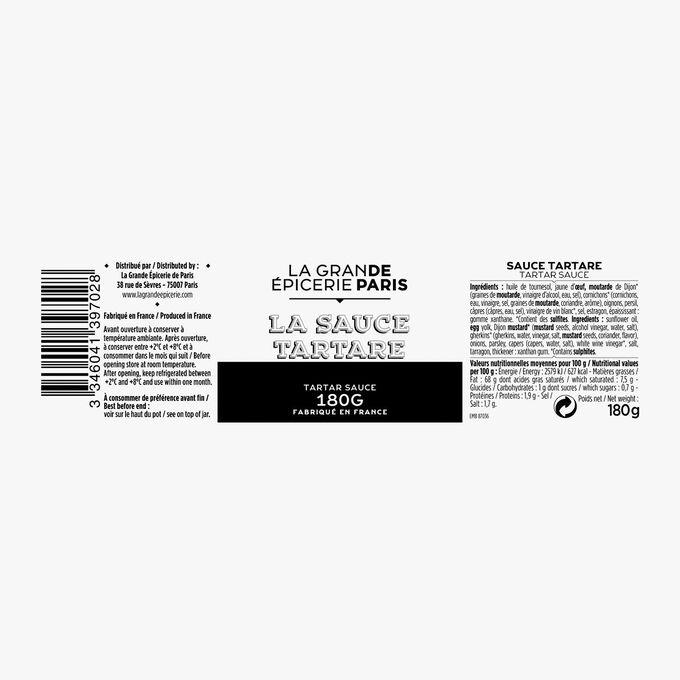 Sauce tartare La Grande Épicerie de Paris