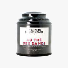 Au Thé des Dames, green tea flavoured with red fruits La Grande Épicerie de Paris