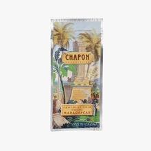 Madagascar dark chocolate bar 75 % Chapon