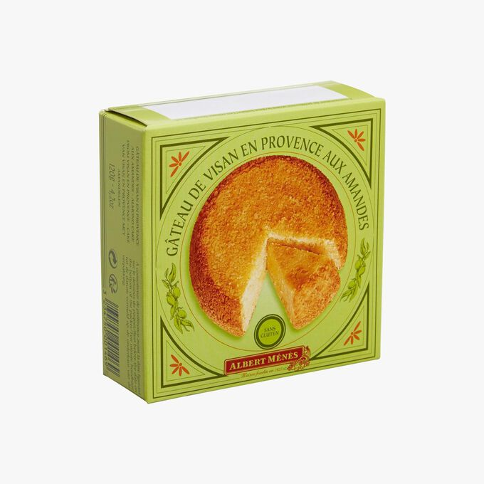 Provençal Visan cake with almonds – Gluten free Albert Ménès