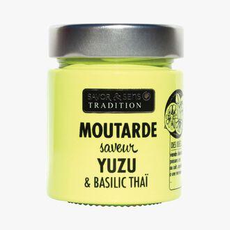 Moutarde saveur yuzu et basilic thaï Savor & Sens
